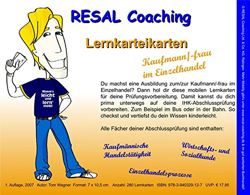RESAL Coaching Lernkarteikarten Kaufmann/-frau im Einzelhandel