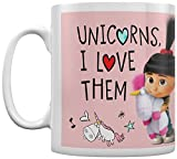 Pyramid International' Despicable Me 3 (Unicorns I Love Them) - Taza de café y té...
