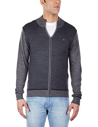 Arrow Sports Men's Half-zip Wool Blend Sweater