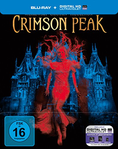 Crimson Peak - Steelbook [Blu-ray] [Limited Edition]