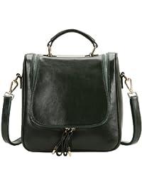E-Girl Q0424,femmes véritable de modèle de sac à main en cuir