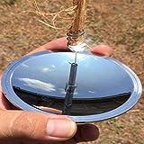 Carry stoneMultifunktions-Solarzündung im Freien wasserdicht Winddicht leichte Camping-Tools mit Spiegel langlebig und prakti
