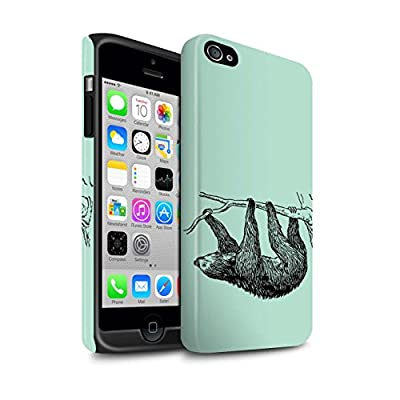 STUFF4 Phone Case/Cover/Skin / IP-3DTBM / Wild Animal Sloth Collection by Stuff4
