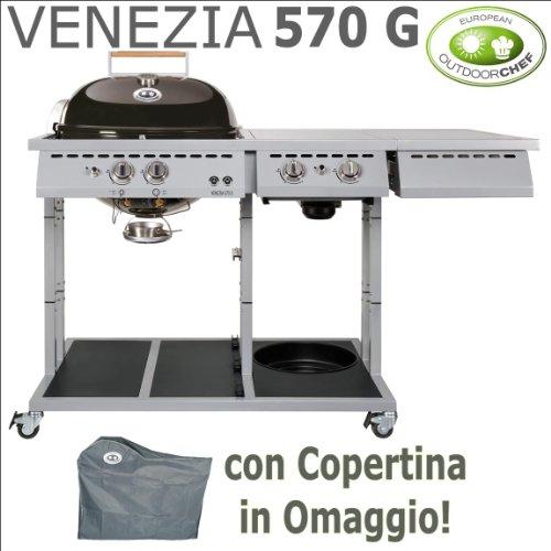 Gaskugelgrill Outdoorchef Venezia 570G–mit Gratis