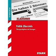 Klausuren Gymnasium - Politik Oberstufe