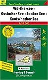 Freytag Berndt Wanderkarten, WK 5233, Wörther See - Ossiacher See - Faaker See - Keutschacher See 1:35.000