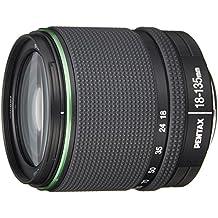 Pentax DA - Objetivo para cámara réflex digital Pentax (18-135 mm, f/3,5-5,6 ED, lente asférica (IF), motor de corriente continua, resistente a las inclemencias del tiempo)