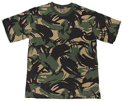 US Army T-Shirt halbarm digital-woodland S-XXXL L,DPM tarn (Tarn Woodland Baumwolle T-shirt Army)