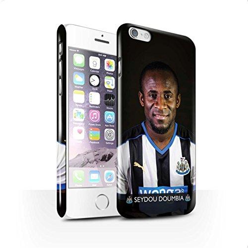Offiziell Newcastle United FC Hülle / Glanz Snap-On Case für Apple iPhone 6S / Anita Muster / NUFC Fussballspieler 15/16 Kollektion Doumbia