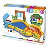 Intex Play Center Dinosaur, Mehrfarbig, 249 x 191 x 109 cm -
