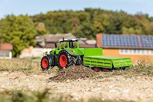 RC Auto kaufen Traktor Bild 6: Carson 500907314 500907314-1:16 RC Traktor mit Anhänger 100% RTR, Ferngesteuertes Fahrzeug, Baufahrzeug mit Funktionen Licht und Sound, inkl. Batterien und Fernsteuerung, grün*