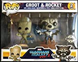 Set Figuren Pop. Vinyl Mavel Guardians Of The Galaxy 2 Young Groot & Rocket Raccoon