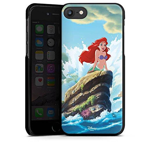 Apple iPhone X Silikon Hülle Case Schutzhülle Disney Arielle die Meerjungfrau Geschenke Merchandise Hard Case schwarz