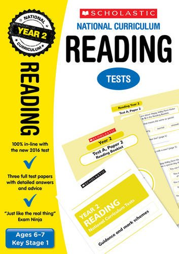 2020 SATs Practice Papers for Reading, Year 2 (Scholastic National Curriculum SATs) (National Curriculum SATs Tests)
