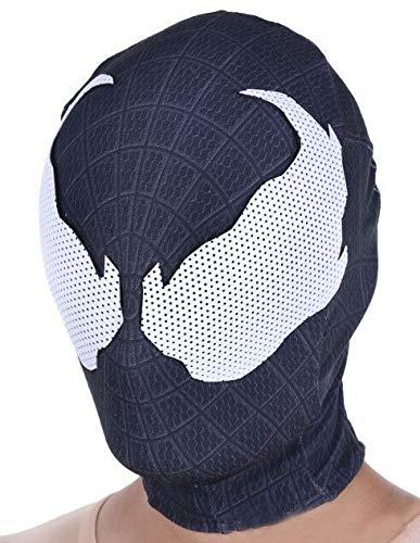 KYOKIM Spider-Man Maske Kind Erwachsener Halloween Mottoparty Lycra Helm Cosplay Karneva Herren Held Vollen Kopf Deluxe Replik