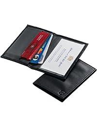 Victorinox Funda Swiss Card, Piel Negra