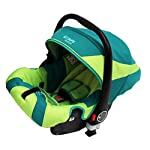 i-Safe System - Lil Friend Trio Travel System Pram & Luxury Stroller 3 in 1 Complete With Car Seat + Changing Bag + Footmuff + Carseat Footmuff + RainCovers
