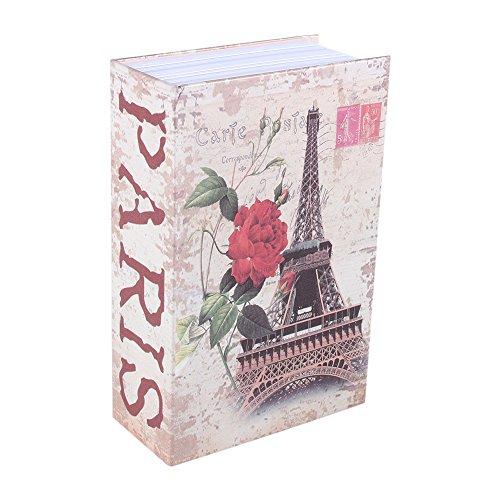 Caja de Seguridad Libro para Poner Joyas, Monedas, Dinero, Objetos de Valor 2#