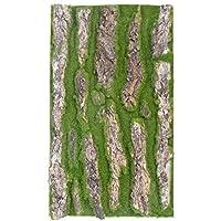 Künstliche Pflanze Moos Künstlich Hängende Rebe Moos Künstlich Plastikpflanzen Hängend Grüne Pflanzen Für Terrarium Balkon Garten Deko, Grün