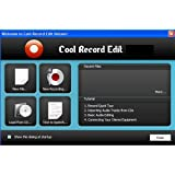 Cool Record Edit Pro - Record & Edit Audio Files Quickly & Easily - Full PC Free Download Review [Download]