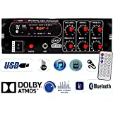 Axil Audio 2 Channel Home DJ Amplifier with Bluetooth, FM & USB Player 5000W PMPO GT-003