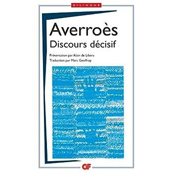 Discours décisif : Edition bilingue français-arabe