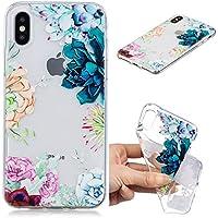 Everainy iPhone XS/iPhone X Hülle Silikon Transparent Gummi Cover Hüllen für iPhone XS Handyhülle Stoßfest Durchsichtig... preisvergleich bei billige-tabletten.eu