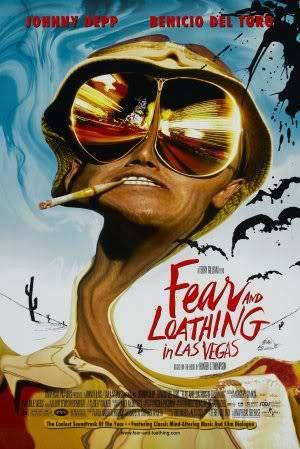 FEAR AND LOATHING IN LAS VEGAS - JOHNNY DEPP - Imported Movie Wall Poster Print - 30CM X 43CM Brand New