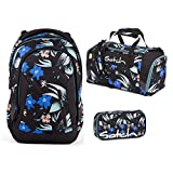 Satch Sleek Magic Mallow Schulrucksack Set 3tlg.