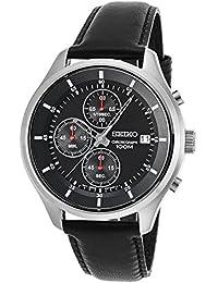 Seiko Herren-Armbanduhr, Schwarz