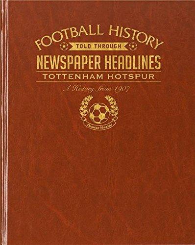 Buch für Zeitungsausschnitte Aberdeen, Fußball, Kunstleder, Tottenham Hotspurs