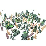 MagiDeal Army Combat Game Toys Soldier Set 6cm Set of 122 - MagiDeal - amazon.co.uk