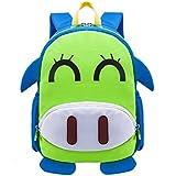 Tinksky Kindergarten Backpack Cute Cartoon Patterned Kids School Satchel Shoulder Bag For Boys Girls - Christmas Birthday Gift For Children (Blue)