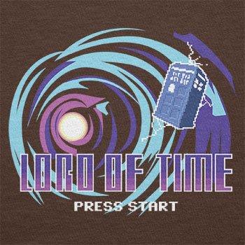Texlab–Lord Of Time Video Game–sacchetto di stoffa Marrone