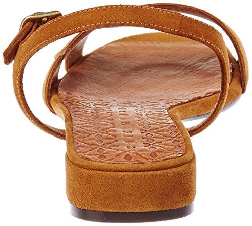 Chie Mihara Vonsai, Sandali con Cinturino Alla Caviglia Donna Marron (ante Cognac)