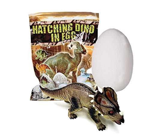 OUT OF THE BLUE Schlüpfender Dinosaurier im sprudelnden Ei 5cm