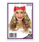 Ohrclips, Creolen mit Clip, 3 verschiedene Farben, Fastnacht, Karneval *NEU bei Pibivibi (gold)