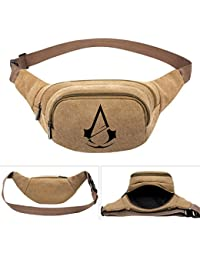 Buyworld Assassin's Creed Game Fashion Men's Women Boys Canvas Waist Pack Bag Pouch Belt Travel Hip Casual Fanny...