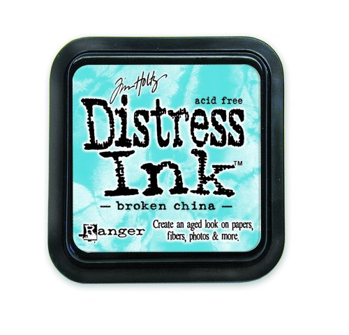 Ranger 18780619 Tim Holtz Distress Ink Pad, Broken China, 7.5 x 7.5 x 15 cm -