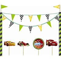 Decorazione per Torta Cars kit Disney
