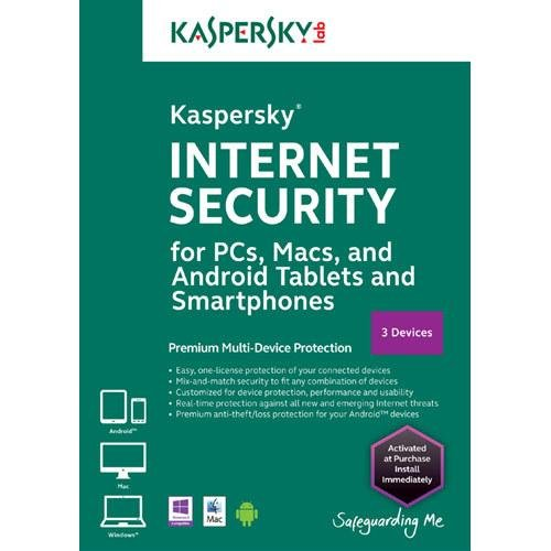Internet-Sicherheit 2014 für PCs, Macs und Android (3 Geräte)