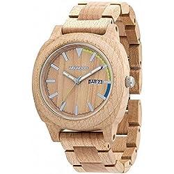Wooden Watch Wewood MOTUS Beige