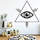 Style de bande dessinée TR angle eyewall autocollant vinyle art décoration de la...