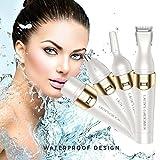 QJHP Frauen Gesichts Haarentfernung, 4 In 1 Flawless Damen, Elektrische Haar Rasierer Trimmer Für Bikini, Körper, Nase, Augenbraue
