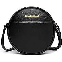 ASTIR COLLEEN Women's & Girl's Sling Bag (Round_Black)