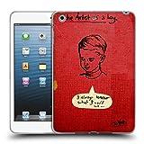 Head Case Designs Offizielle LouiJoverArt Der Künstler Als EIN Junge Lebhafte Farben Soft Gel Hülle für iPad Mini 1 / Mini 2 / Mini 3