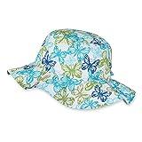 Sterntaler Hut für Mädchen mit weiter Krempe und Schmetterling-Motiv, Alter:...