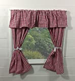 Kids Playhouse tende ~ ~ rosso a quadretti con mantovana include raccordi ~ Wendy House/Summer House