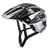 Cratoni Mountainbike Helm AllSet, Black-White Matt, Gr. S-M (54-58 cm)