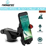 RADAAREO Supa-x Windshield 360 Degree Adjustable 3-in-1 Car Mount Holder For All Smartphones